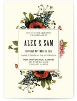 Vintage Garden Invite