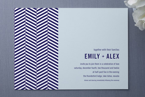 Royal Navy Wedding Invitations