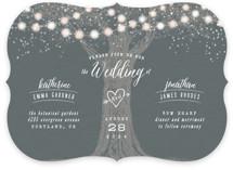 Garden Lights Wedding Invitations