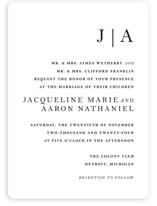 Sophistotype Wedding Invitations