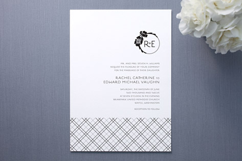 POPPY POSH Wedding Invitations