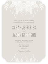 Lacey Overtones Wedding Invitations