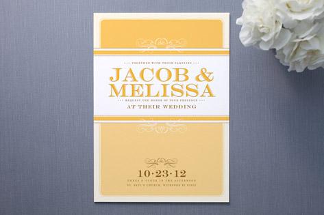 Summer's Eve Wedding Invitations