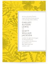 Sundance Wildflowers Wedding Invitations