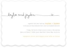 The Happy Couple Wedding Invitations