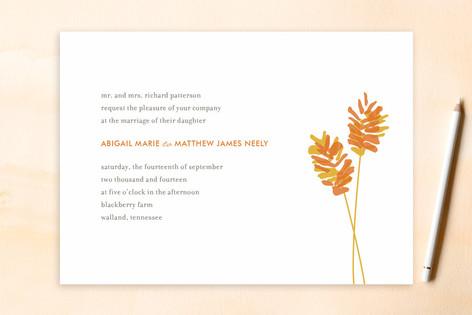 WHEATFIELD Wedding Invitations