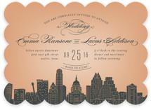 Big City - Austin Wedding Invitations