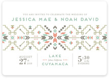 Santa Fe Dream Wedding Invitations
