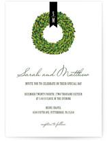 Boxwood Wedding Invitations