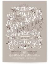 Merriment Wedding Invitations
