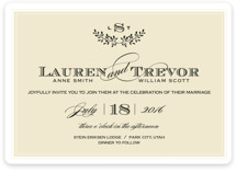 Aspen Ridge Wedding Invitations