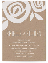 Flora Grande Wedding Invitations