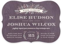 Woodland Romance Wedding Invitations