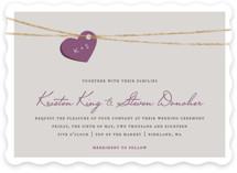 Tangled Love Wedding Invitations