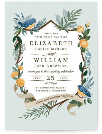 Nature's Crest Wedding Invitations