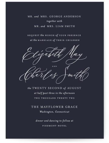 Elysium Wedding Invitations