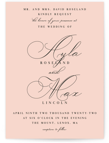 Sweet Nothings Wedding Invitations