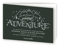 Adventurous Four-Panel Wedding Invitations