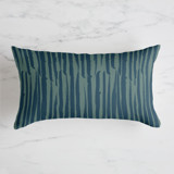 Brushed Lines Throw Pillow