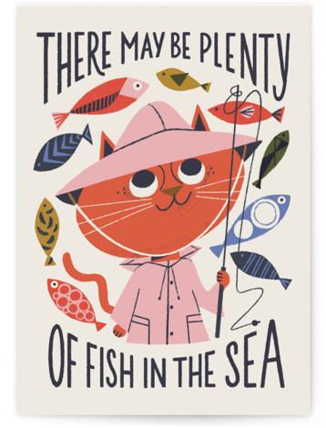 Plenty of Fish Valentine's Day Greeting Card