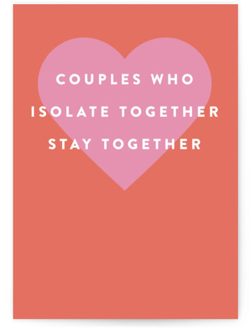 Stay Together Valentine's Day Greeting Card