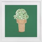 Ice Cream Monogram