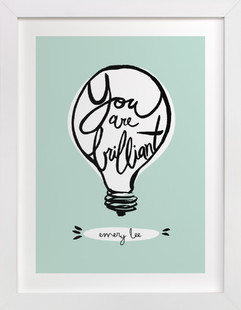 Brilliant Children's Custom Art Print