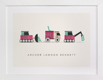 Trucker Monogram