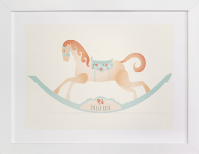 Painted Horse Children's Custom Art Print