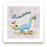Splash-o-saurus by Frooted Design