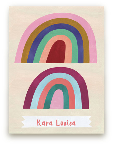Double Arches Children's Custom Art Print