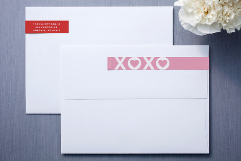 Hearts and Kisses Skinnywrap™ Address Labels