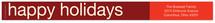 Chestnut Red Skinnywrap™ Address Labels