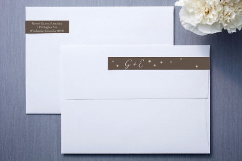 Fireflies Skinnywrap™ Address Labels