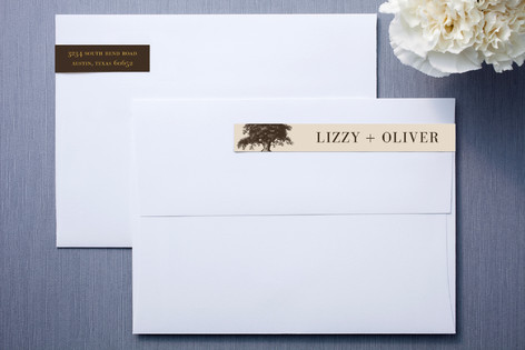 Oak Tree Skinnywrap™ Address Labels