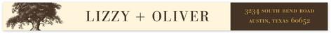 Oak Tree Skinnywrap Address Labels