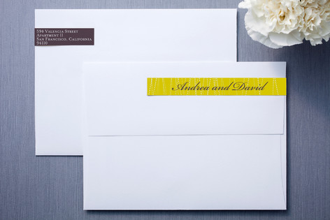 Goldshine Skinnywrap™ Address Labels
