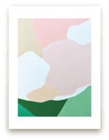Abstracted Summer Hills