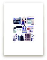 Townhouse by Jenna Skead