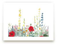 English Garden by Anna Stout-Tuckwiller