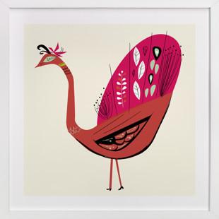 Peacock Children's Art Print
