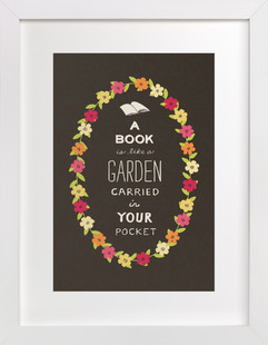 Book Love Children's Art Print