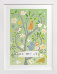 Celebrate Life Children's Art Print