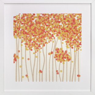 Nature's Confetti Children's Art Print