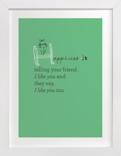 Happiness Is... Children's Art Print