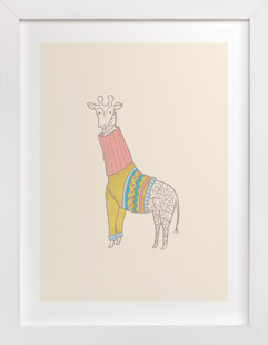 Fiesta Turtle Neck Children's Art Print