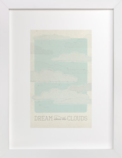 Above the Clouds Children's Art Print