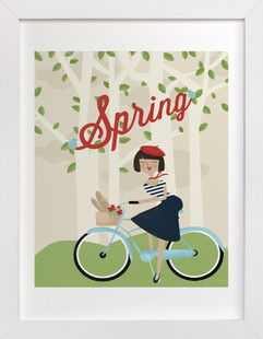 Le Printemps Children's Art Print