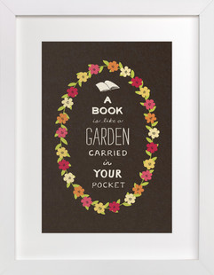 Book Love Children's Art Print