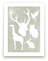 Animal Silhouettes by Paisley Tree Press